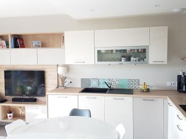 Rénovation d'un appartement avec création d'une chambre dans salon et verrière ANNECY LE VIEUX