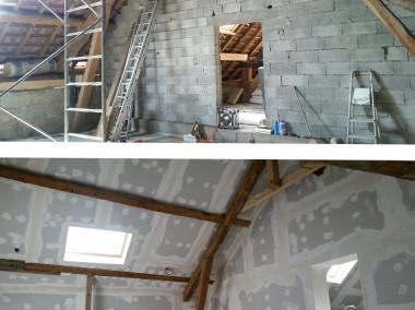 Rénovation de charpente et Isolation de 200m2 de combles dans une maison à RUMILLY