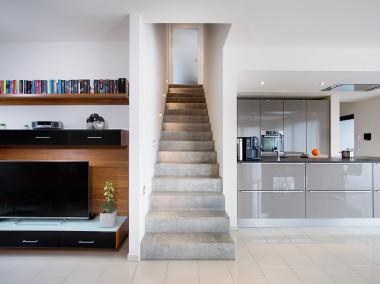 Dossier Inspirations déco : l'escalier béton