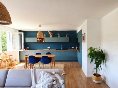 Avant / après Rénovation d'un appartement de 92m2 rue Montaigne ANNECY