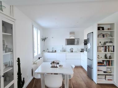 Avant / Après Rénovation d'un appartement de 80m2 rue Georges Martin ANNECY