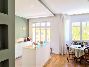Avant / Après transformation et rénovation totale d'un appartement de 75m2 rue Camille Dunand ANNECY