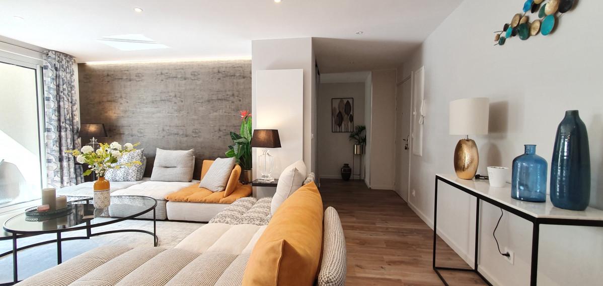 Rénovation totale d'appartement de 90m2 à Sevrier
