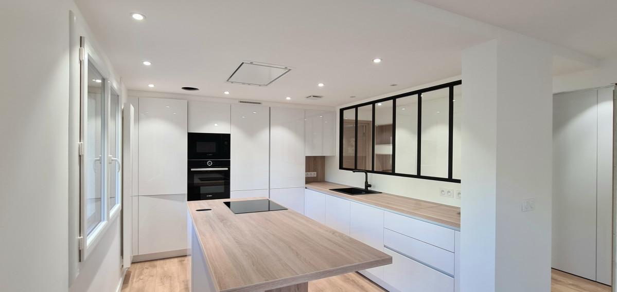 rénovation, transformation et aménagement complet d'un appartement de 115m2 rue Paul Guiton à ANNECY