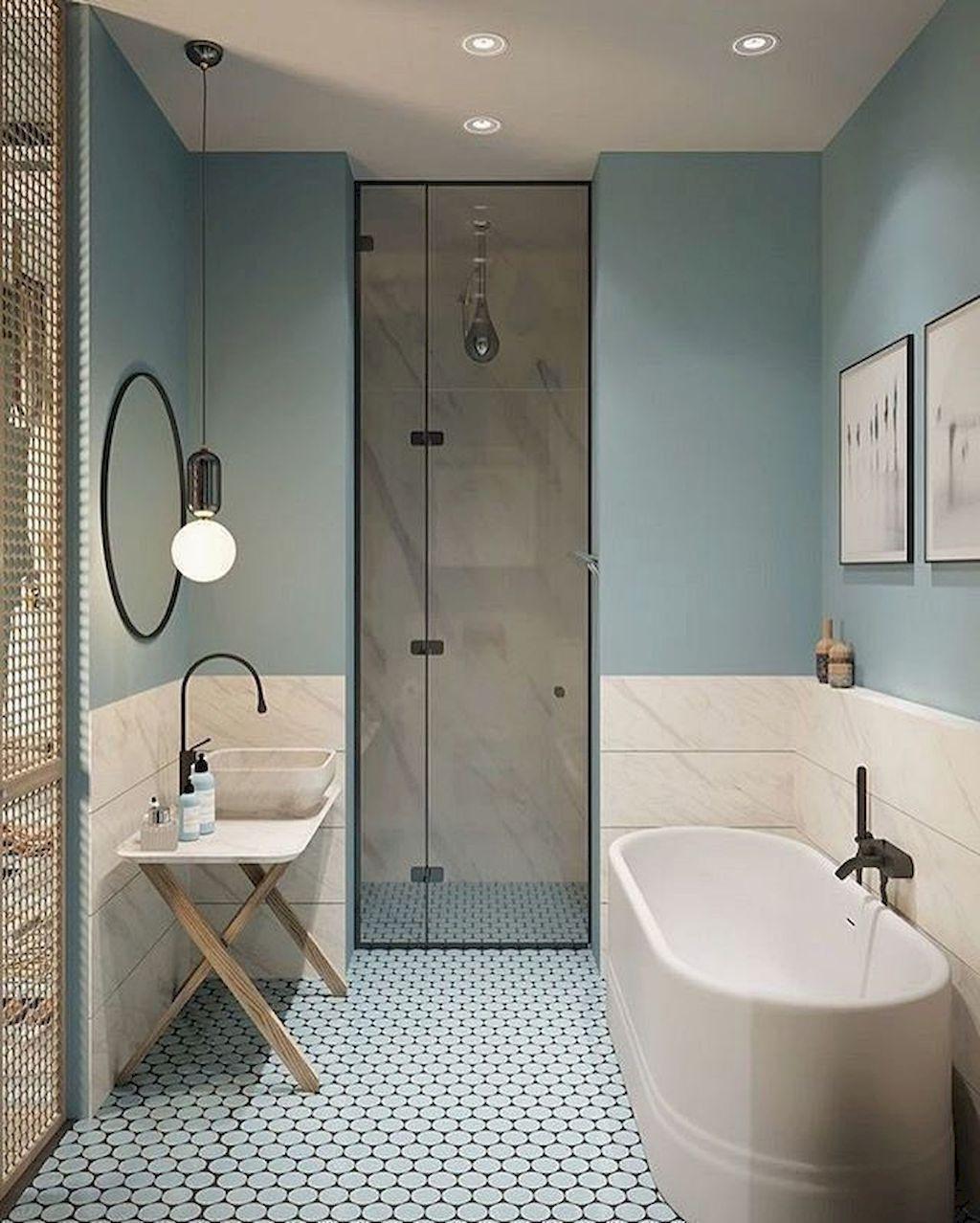 Dossier déco : Du carrelage à mi hauteur dans votre salle de bains ?
