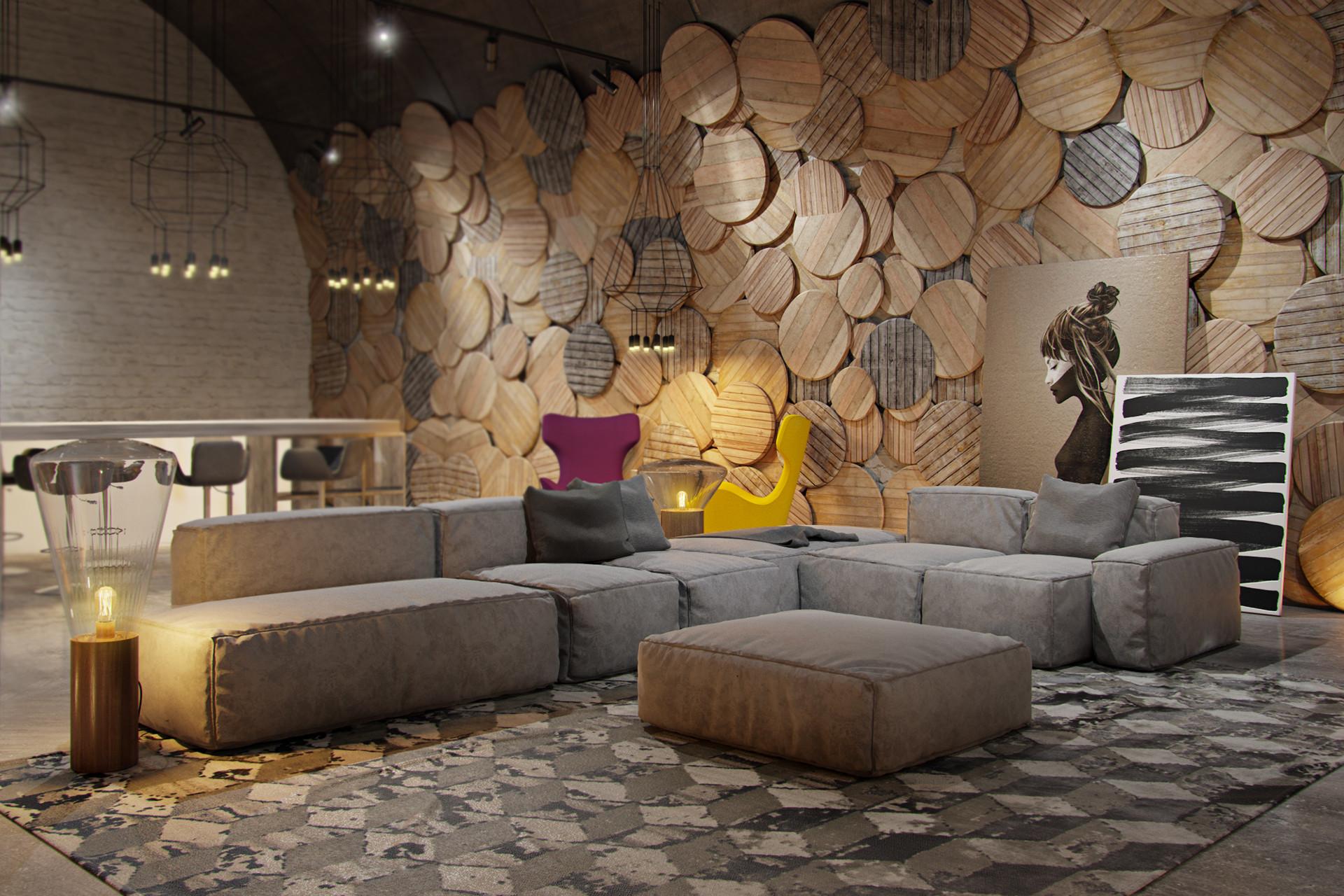 Mur En Parement Salon inspirations déco : le parement décoratif pour vos murs